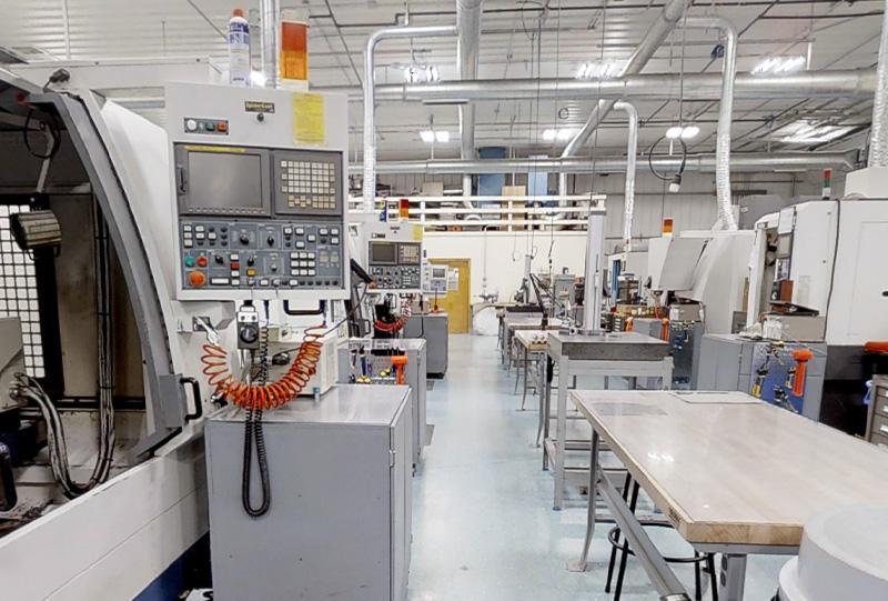 Putnam Machining Facility, Multi-Axis Machining Technology