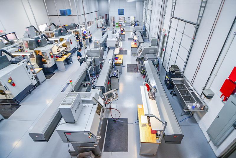 Warminster PA Machining Facilities, CNC Machining Centers